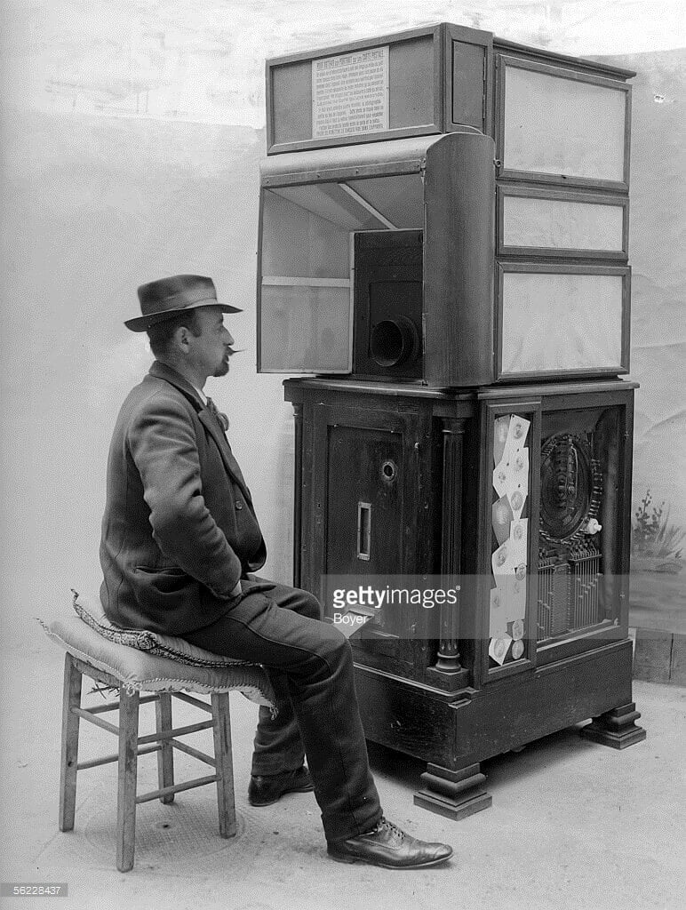 History of Photo Booths